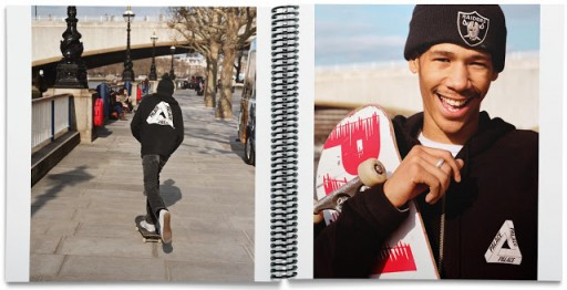 Percevalties The Palace Book : le livre de skate d'Alasdair McLellan