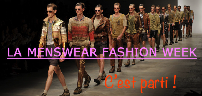 Percevalties La Menswear Fashion Week, c'est parti !